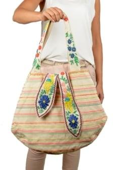 Flora emb bag