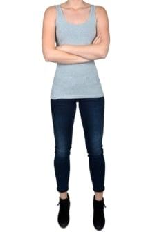 Singlet women light grey