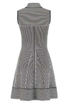 Janilla ventura dress 9020/blk/o.wht stripe 016