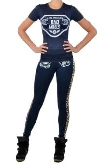 Sport panther t-shirt navy 016