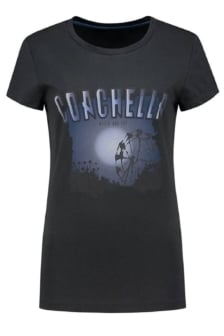 Coachella t-shirt 9051/faded black 016