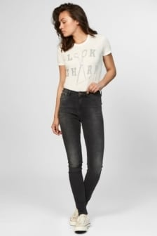 Needle high skinny fit