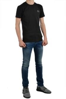 Antony morato t-shirt sport round neck black