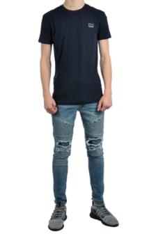 Antony morato t-shirt sport round neck navy