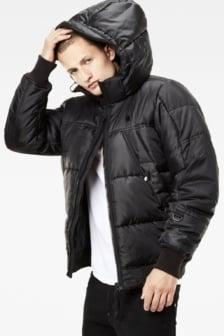 Whistler hooded bomber black