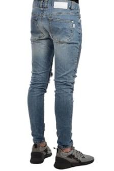 Nena and pasadena slim biker jeans