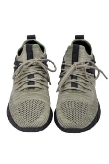 Cortica mens trainers infinity olive knit