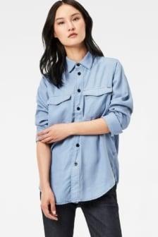 Rovic boyfriend shirt blue