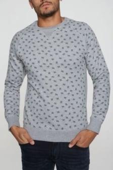 Dstrezzed sweater grey