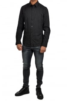 Core shirt l/s 9191/black/milk