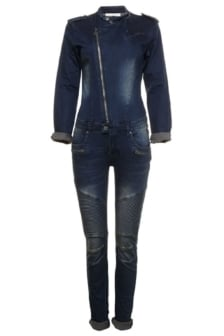 Circle of trust new taylor vivid blue jumpsuit