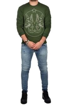 Twindog sweater green