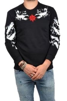 Scorpion sweater black