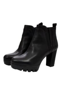 Lazamani black booties