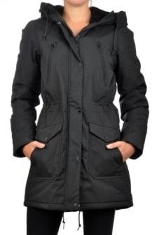 Elvine magnolia jacket black