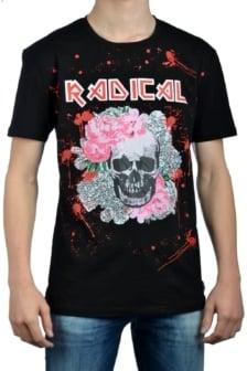 Radical elio rock shirt black