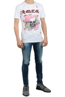 Radical elio rock shirt white