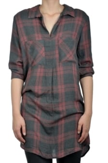 Bella dahl fold placket dress