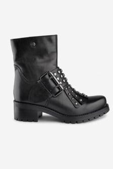 Cult metallica mid 1644 leather black