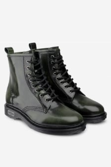 Cult sabbath mid 420 brushed leather mid green
