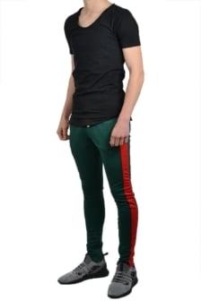 Radical track pants dark green