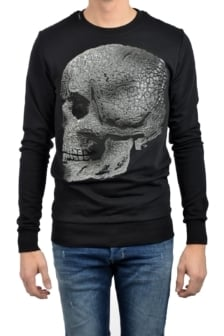 My brand fearless of death sweater black