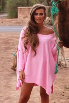 Reinders loesje knitwear short pink