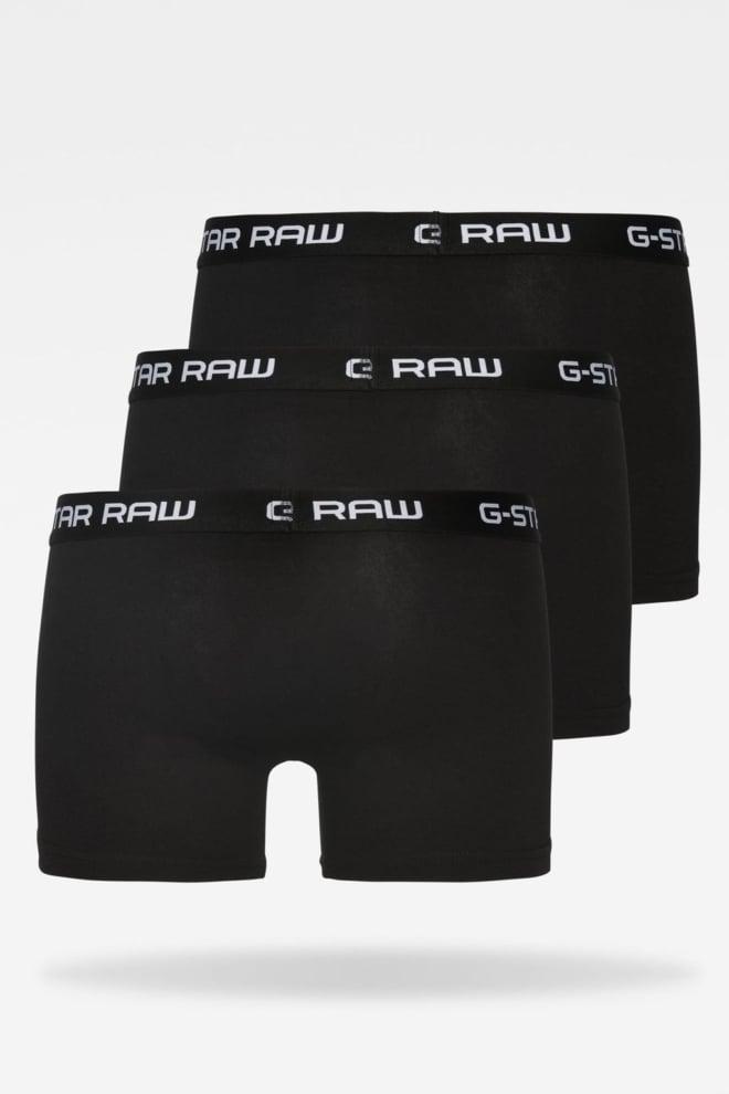 Classic trunk 3 pack 4248/black 016 - G-star Raw