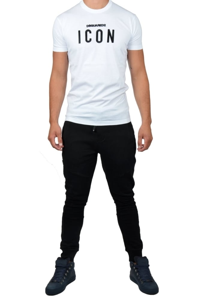 Tee s/s 100/white 016 - Dsquared