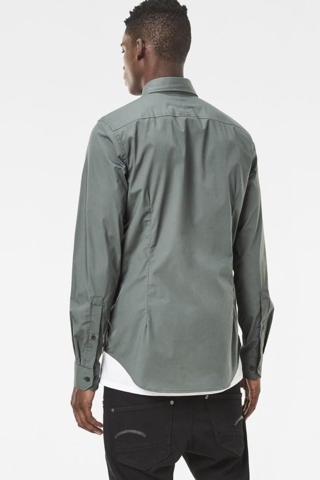 G-star raw core shirt l/s green - G-star Raw