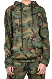 La sisters camouflage hoodie
