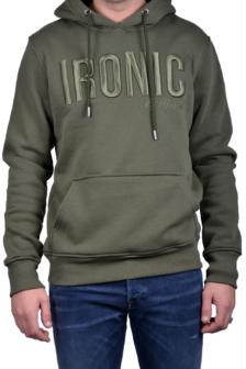 My brand ironic hoodie army green