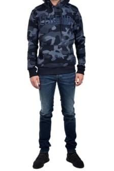 My brand legend camo hoodie navy