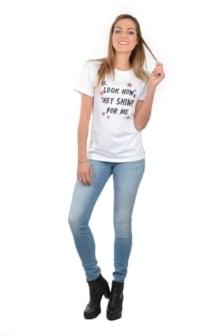 Radical t-shirt shine