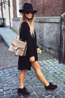 Reinders loesje knitwear short true black