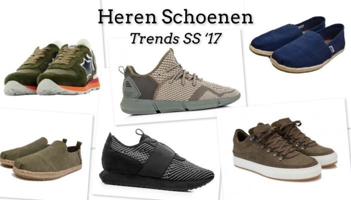 Heren schoenen trends 2017